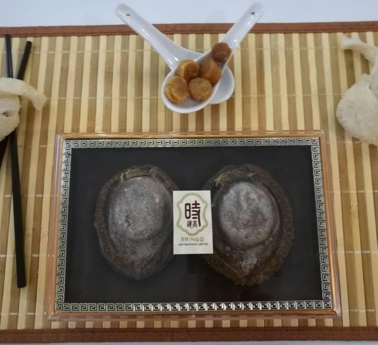4-6頭 南非乾鮑魚禮盒裝